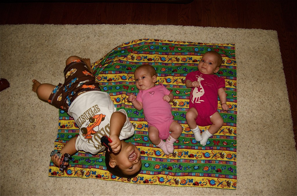 My 3 Kiddos (Cooper 21 Months, Anna May, & Molly 10 weeks)