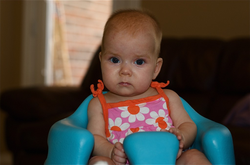 Anna May 4 Months Old
