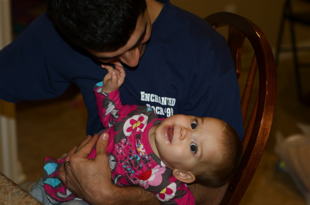 Molly with Daddy